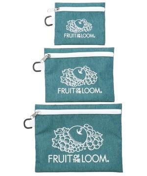 14846200【FRUIT OF THE LOOM/フルーツオブザルーム】FTLFLAT POUCH SET/フラットポーチセット