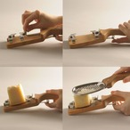 ビアンキ グレータースプーン&チーズホルダー