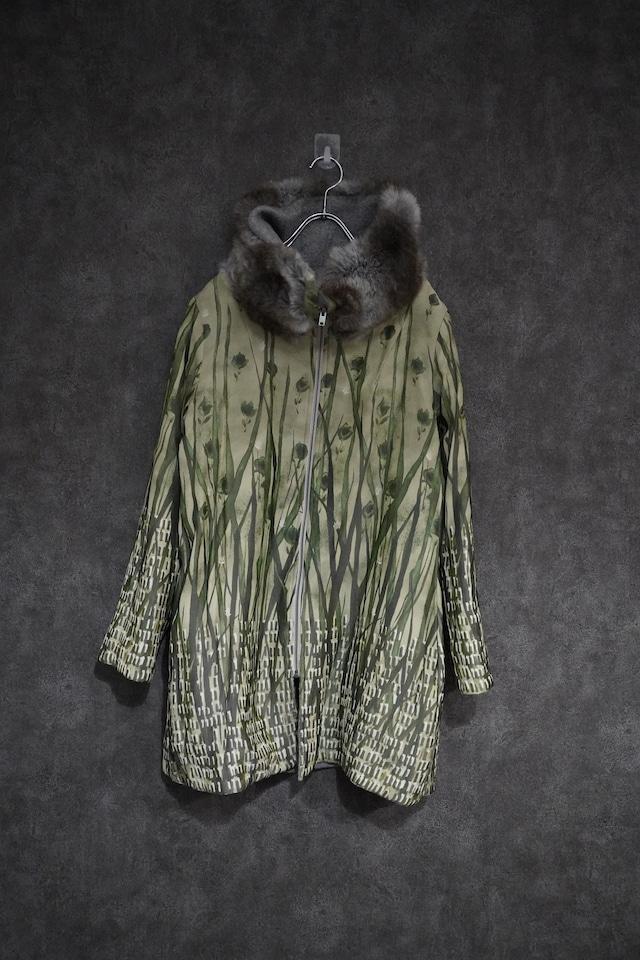 【2021緊急 SALE】 SHIKI wool ×fake fur  reversible coat