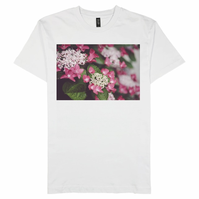 がく紫陽花|COTTON HERITAGE 5.5oz プレミアムプリントTシャツ