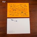 【CHIQON】postcard「FLY」