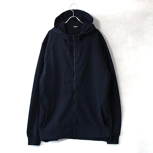 9.1oz Performance Fleece FULL-ZIP Hoodie - Navy -