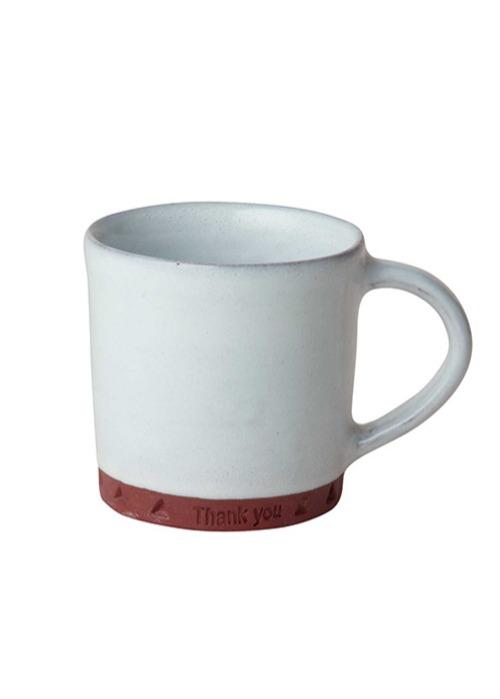 【ピープルツリー】陶器のメッセージマグ