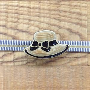 帽子(帯留・ブローチ)