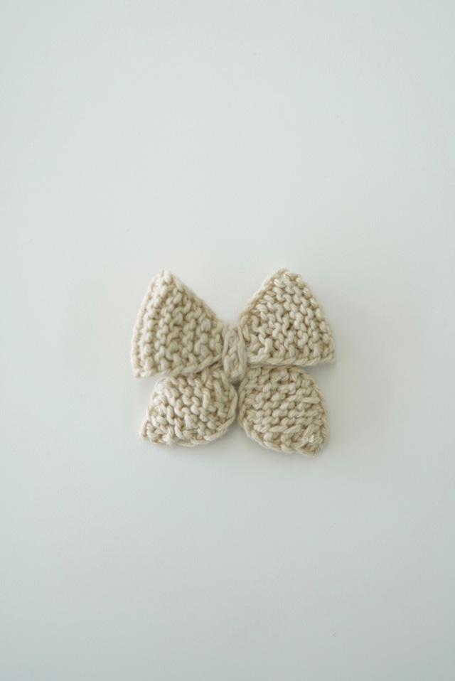 Organic knit ribbon Earth color