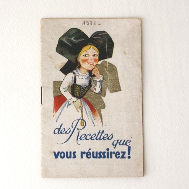 ALSA Recettes 1932  / vp0006