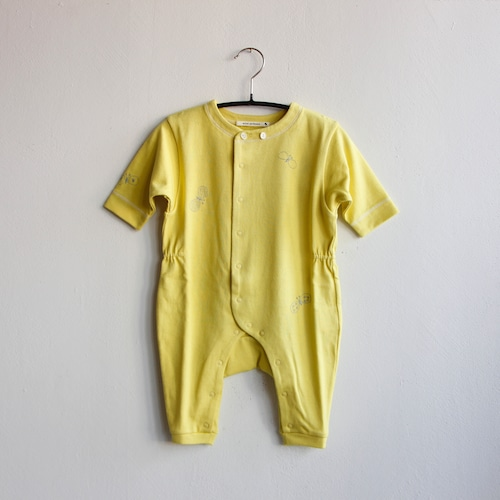 《mina perhonen 2020AW》choucho ロンパース / yellow / 60・70cm