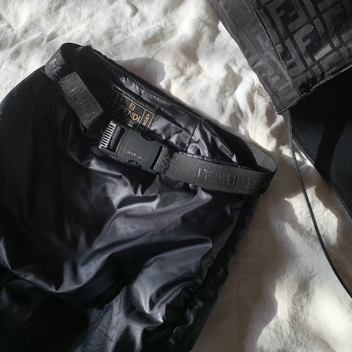 FENDI 中綿入りロングスカート