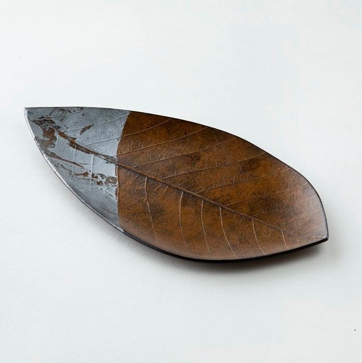 Leef 朴の葉乾漆