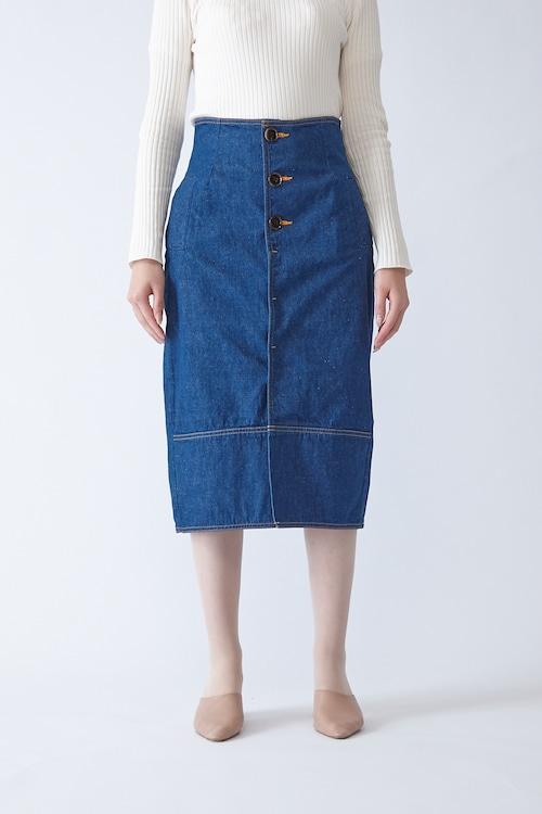 <50%OFF SALE>LAUREL(CLASSIC BLUE)タイトスカート