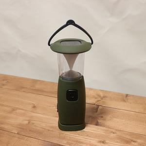 LEDソーラー充電式キャンプライト