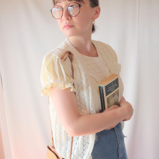 Autumn clothing 2: crochet-style vest