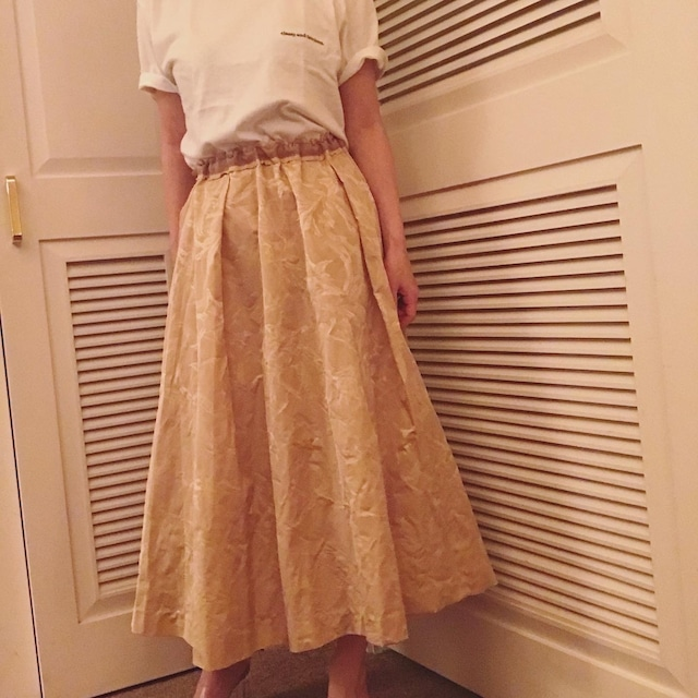 【ご予約販売】オリジナルタフタスカート