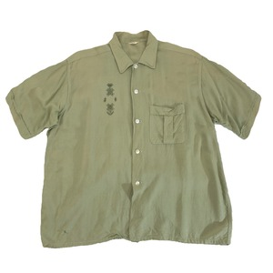 60-70s オールドレーヨンシャツ Rayon shirt