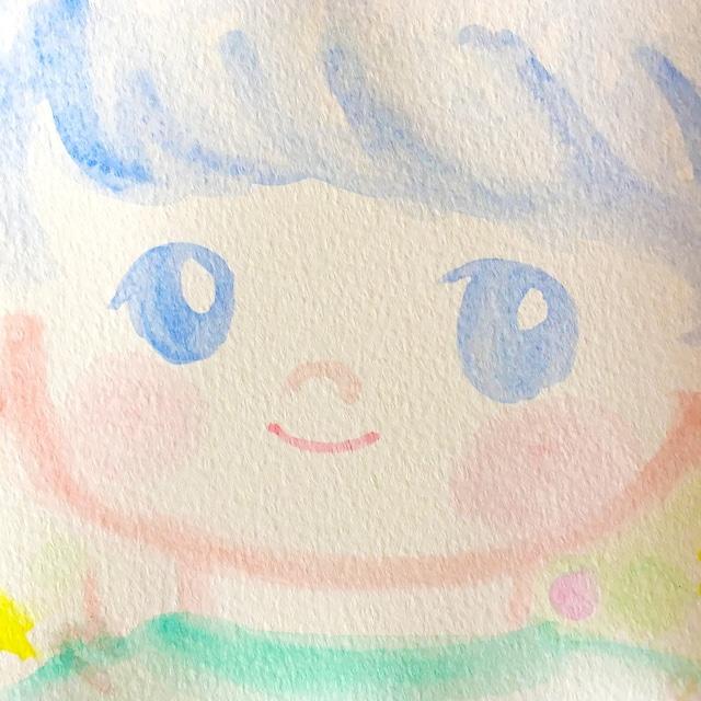 絵画 インテリア アートパネル 雑貨 壁掛け 置物 おしゃれ ロココロ 画家 : あゆみそう 作品 : おとこのこ