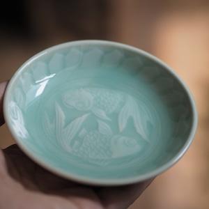 『青磁の小皿』景徳鎮