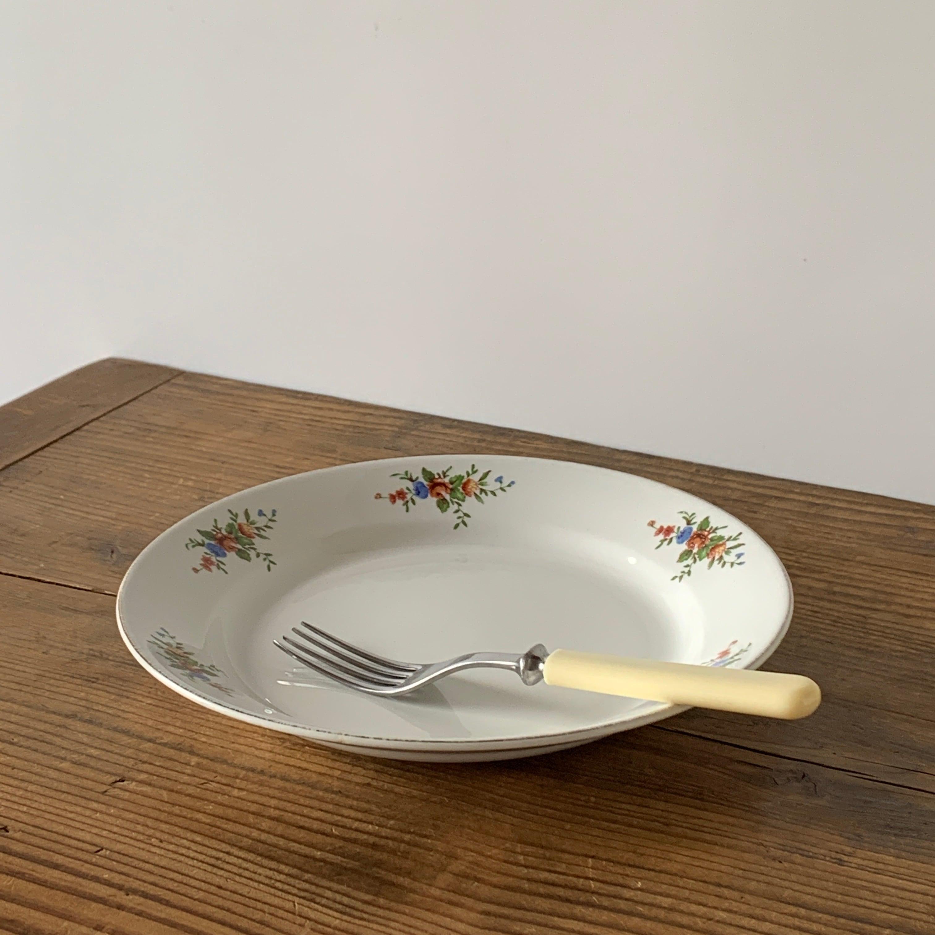 ARABIA / Plate[Bouquet]A