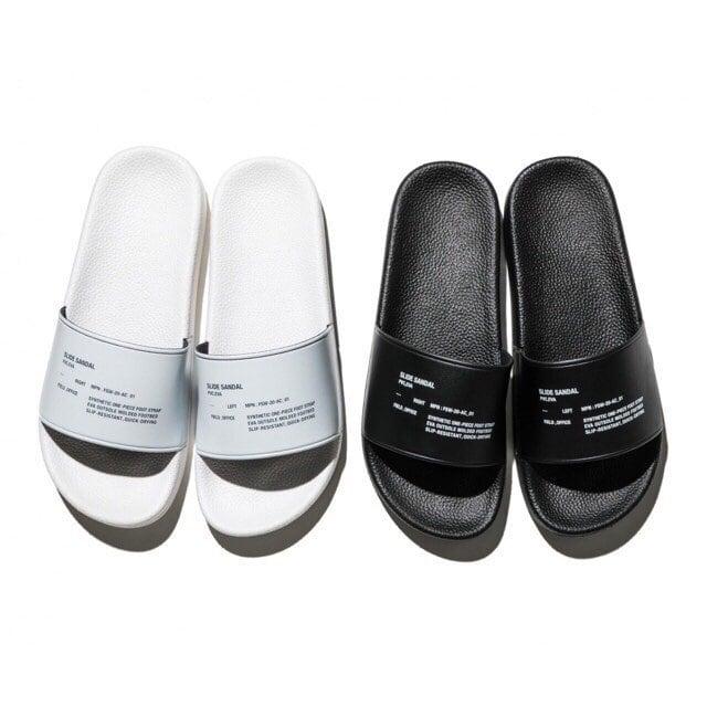 FreshService (フレッシュサービス) Slide Sandal (サンダル) ホワイト/ブラック