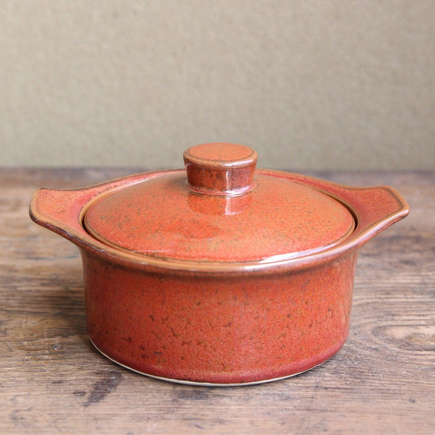 曽根陶器 窯変 ストーンウェア ココット