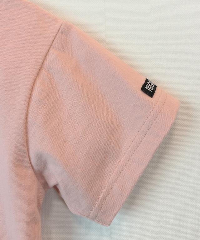 レイヤード風半袖ビックTEE