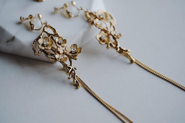 Bridal Earring・vintage・2021 /sale