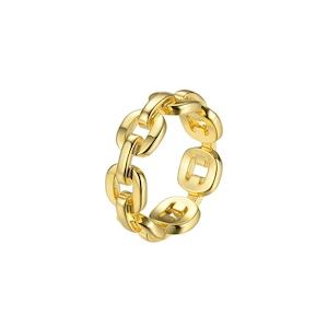 Chain design ring リング
