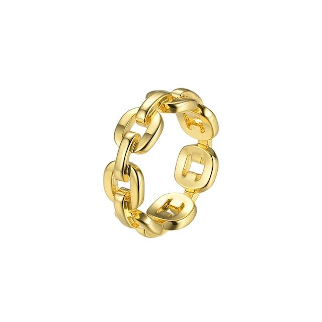Chain design ring|リング