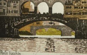 Ponte Vecchio ・ハガキ