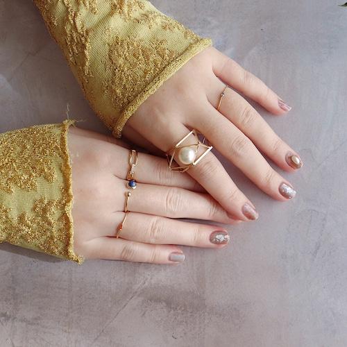 SET RINGS    【通常商品】 PRIMAVERA GOLD RING SET D    5 RINGS    GOLD    FBB004
