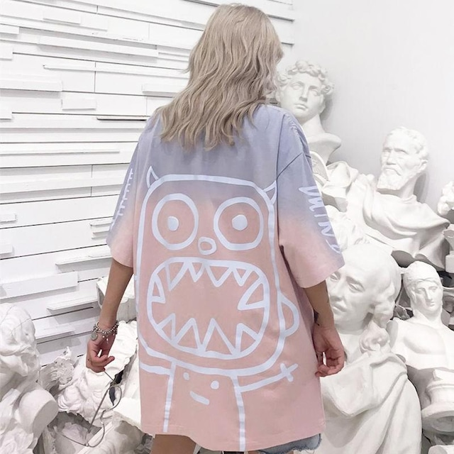 【トップス】カジュアルペアルックファッションプリントTシャツ30927480