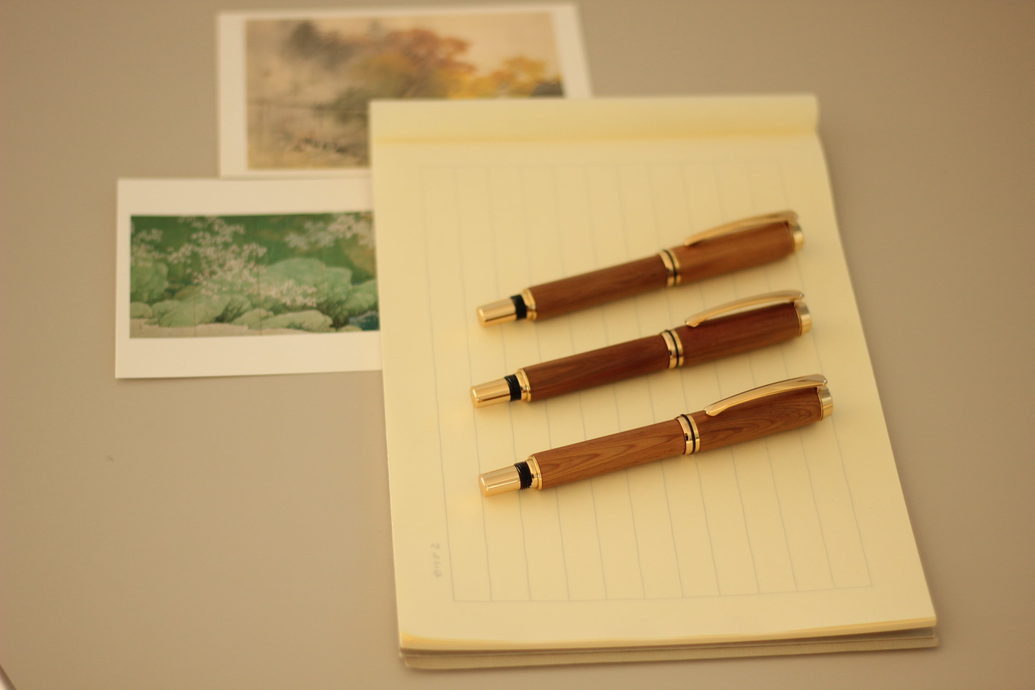 日光杉並木・手作り万年筆 銘『長命四百年』