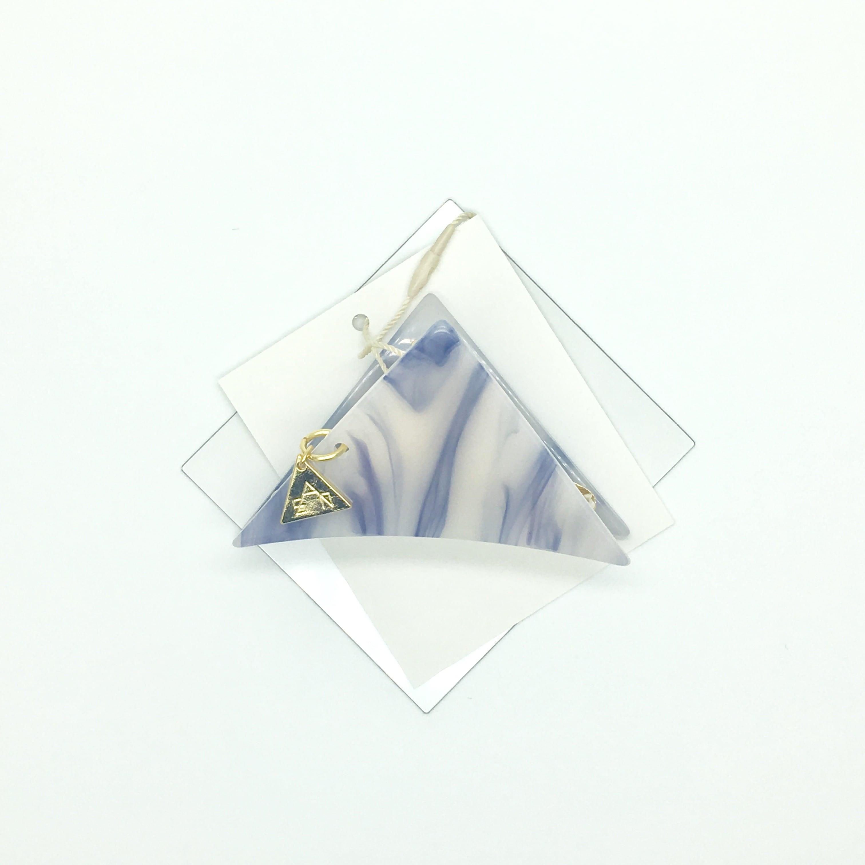 sAn 三角クリップSサイズ ネイビー