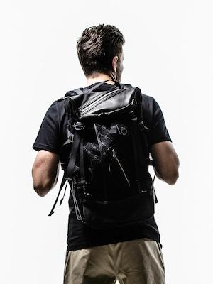 RESOUND CLOTHING (リサウンドクロージング) DECADE×RESOUND BAGPACK / MONO BLACK RCD-BAG-002-1