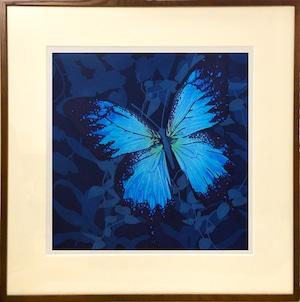 再入荷希望の方ご相談下さい。     水口 かよこ「青い翅のための装画」