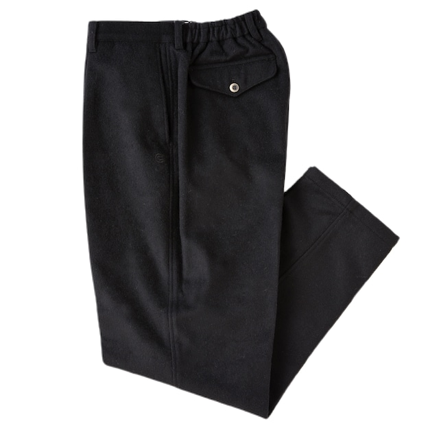 COLONY CLOTHING / ONE PLEAT TROUSERS WOOL CASHMERE  / CC2102-PT01-01