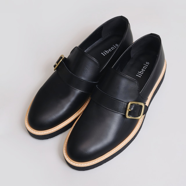 【libenis × MARSEE】Belted Leather Shoes 【即納】