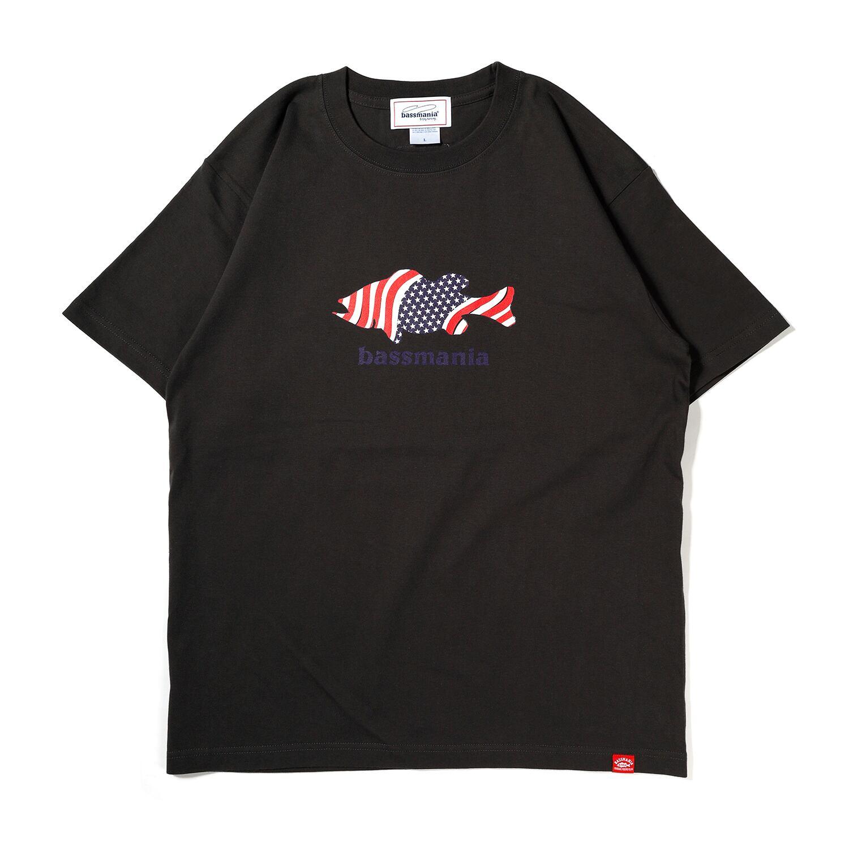 USA BASSTシャツ[S.BLK]