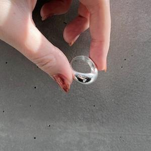RING || SILVER925 HAMMERED FINISH PUKKURI RING || 1 RING || SILVER || FBF270