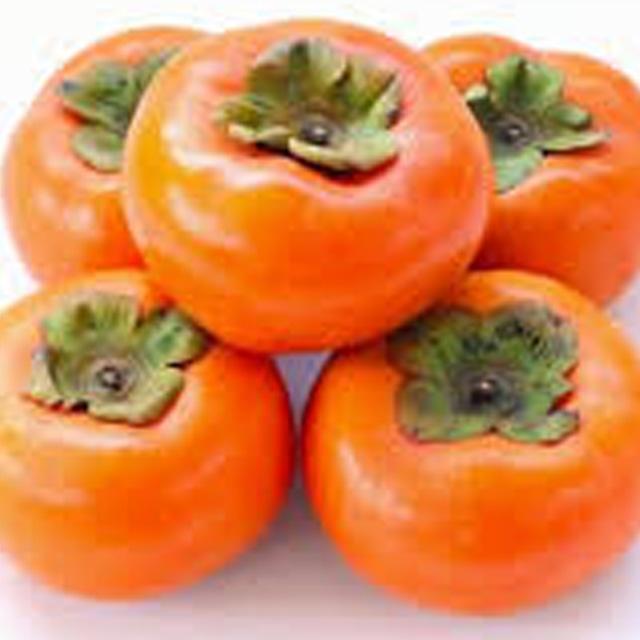 冷蔵柿(富有柿) 2L(11玉)約3kg 河北農園 【福岡】(12月下旬から販売)
