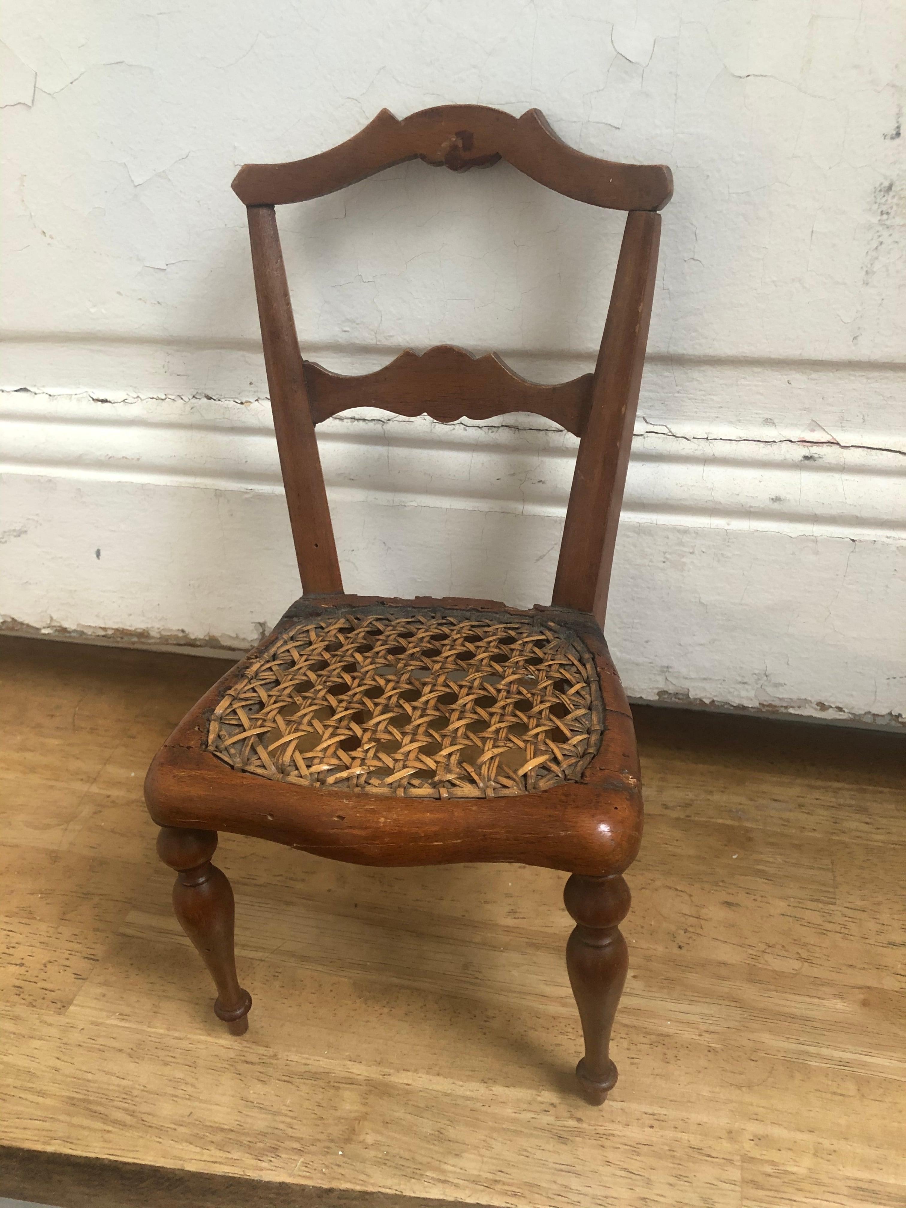 I様専用 おもちゃの小さな木製チェア 椅子 装飾あり