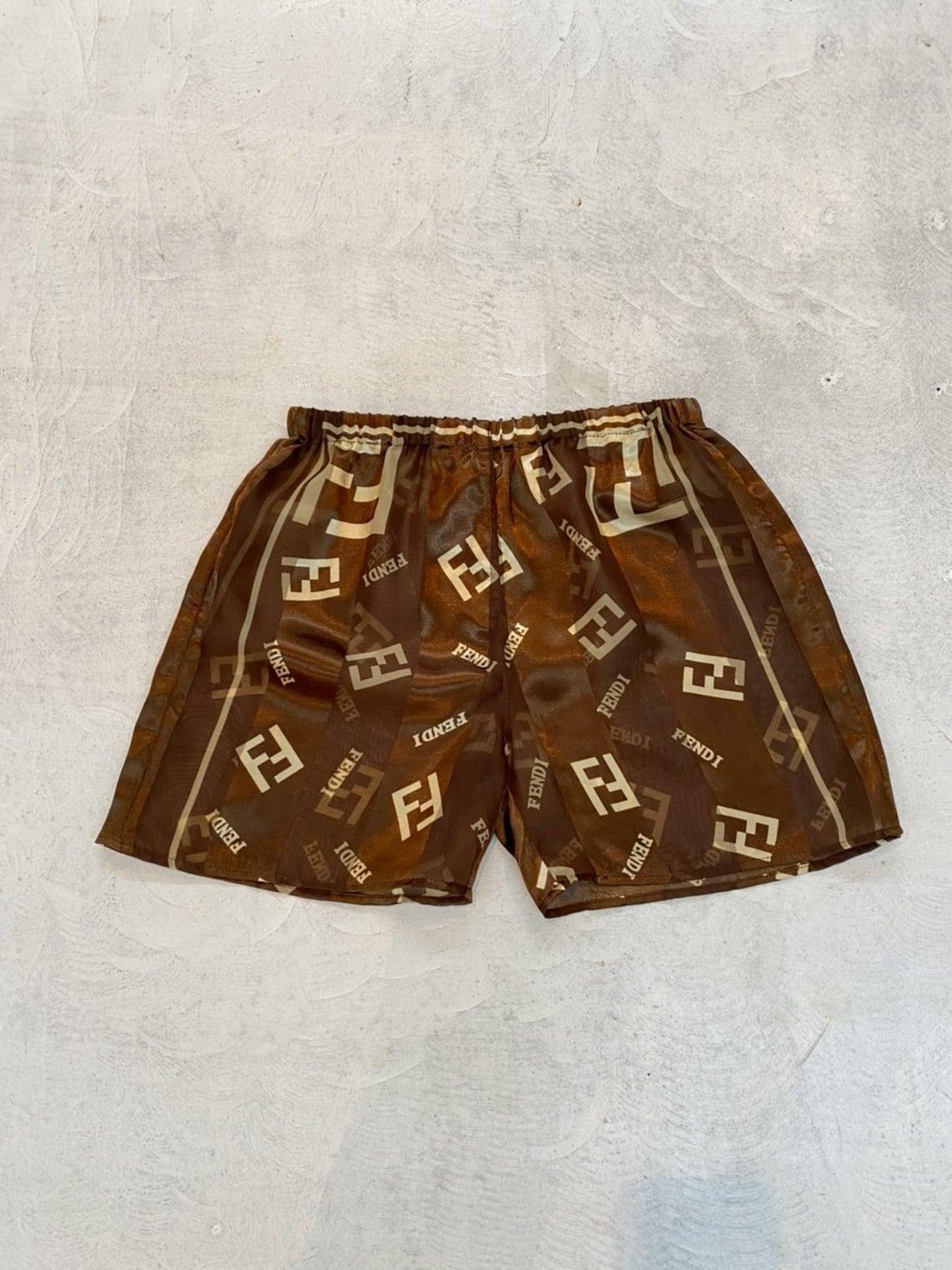 See through short pants