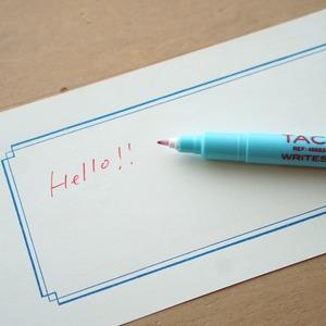 なめらかなタッチの水性ペン。PENCO Tacticwriter 0.5