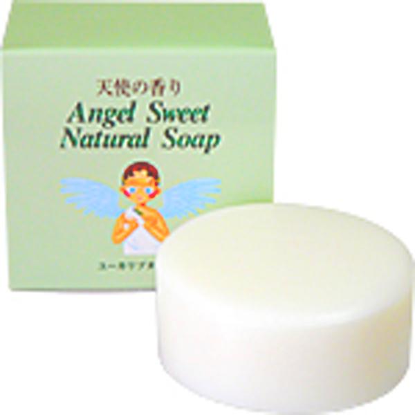 天使の香り ユーカリプタスナチュラルソープ100g 石鹸 無添加 天然素材100% 4543915320000 鎮静 美肌