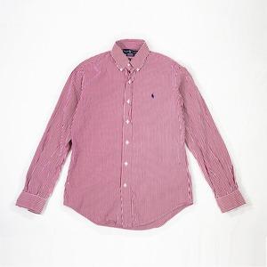 Used_ストライプシャツ Ralph Lauren  古着 シャツ ボタンダウン ストライプ 【順次発送商品】