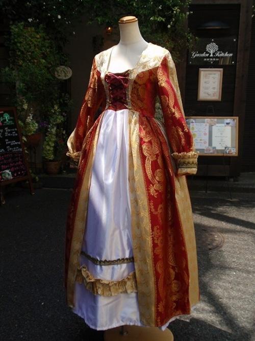 バロックドレス ヴェルサイユ仕様 時代衣装