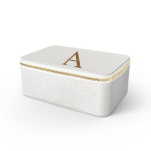 Box Premium Shrink Leather Case (Milk White)