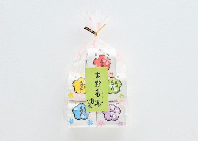 吉野葛湯 5個 袋入 (しょうが・ゆず・プレーン・抹茶・葛しるこ)