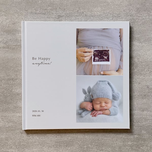Be Happy(Vertical 2cut-BE)-MATERNITY_A4スクエア_8ページ/12カット_フォトブック