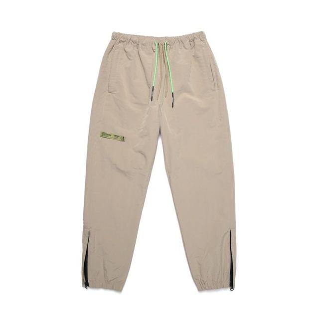 205308 ZIP TRACK PANTS / BEIGE