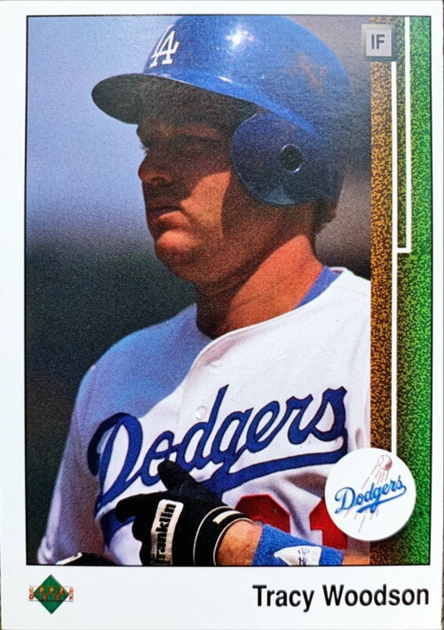 MLBカード 89UPPERDECK Tracy Woodson #108 DODGERS